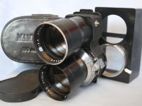 * 18cm TLR * Mamiya Sekor 18cm 180mm 1:4.5 Telephoto Prime TLR Twin Lens Cased + Hood £89.99